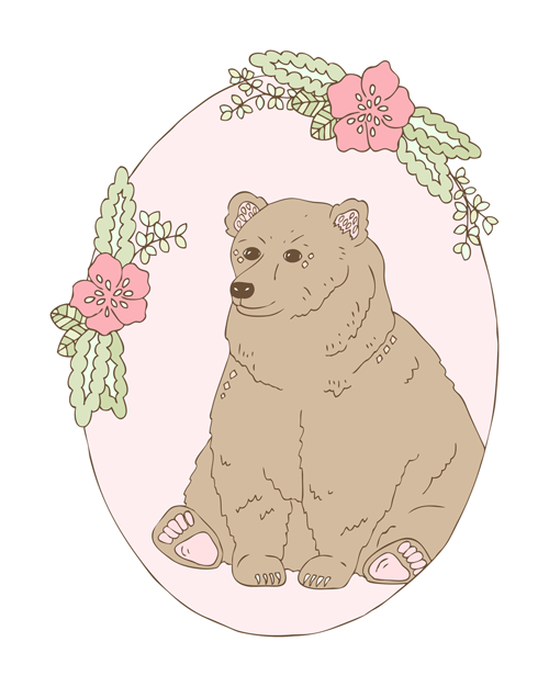 Emma Margaret Illustration Bear 2016