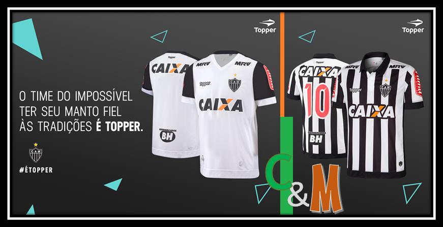 945b761288 Camisas e Manias  Atlético Mineiro   Topper 2017