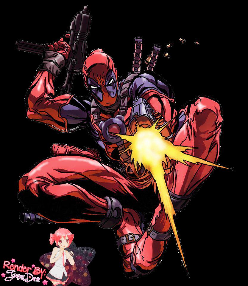 Render Deadpool