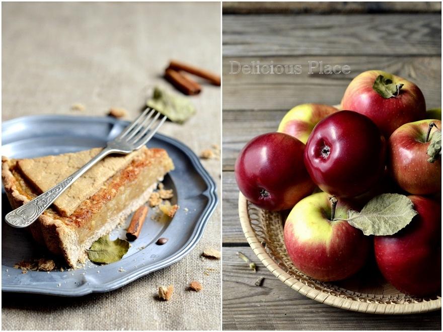 Bezglutenowa krucha tarta z jabłkami