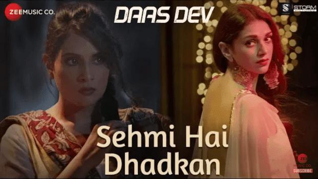 Sehmi Hai Dhadkan Lyrics