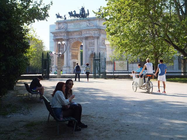 Parco Sempione, Milán, Milano, Italia, blog de viajes, Elisa N, Argentina