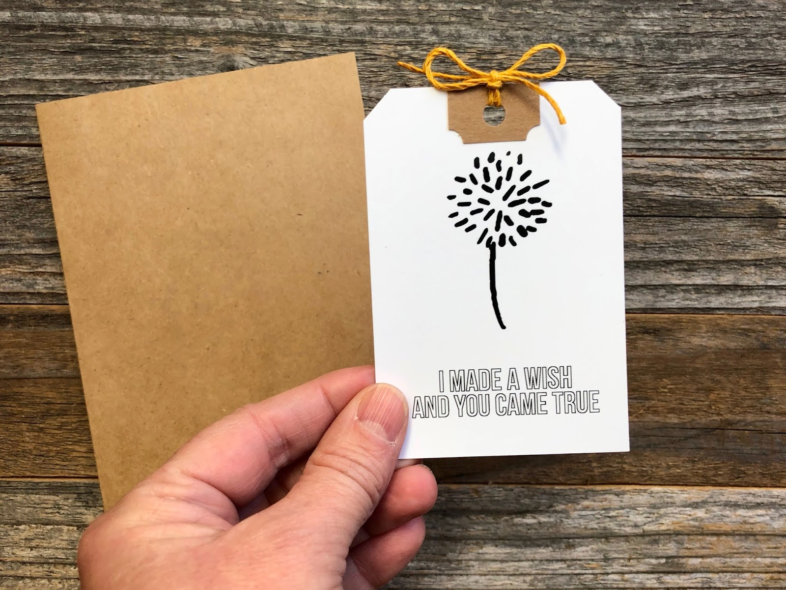#Dandelion Wishes #dandelion #cardmaking #card #I Made A Wish #make a wish #romantic card