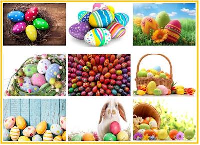 Telor Paskah - Telor-telor Dihiasi Untuk Merayakan Happy Easter
