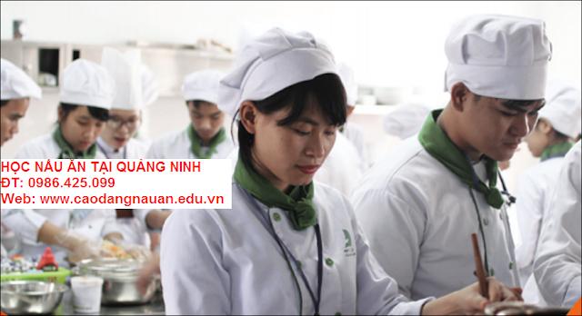 Học nấu ăn tại Quảng Ninh