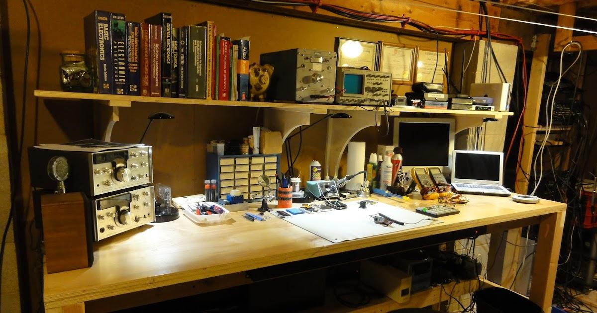 Magnetic Madness Labs Electronics Workbench Laboatory