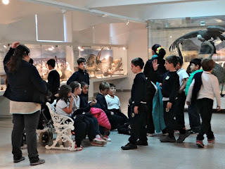 As Crianças no Setor de Taxidermia, Museo Moyano de Mendoza