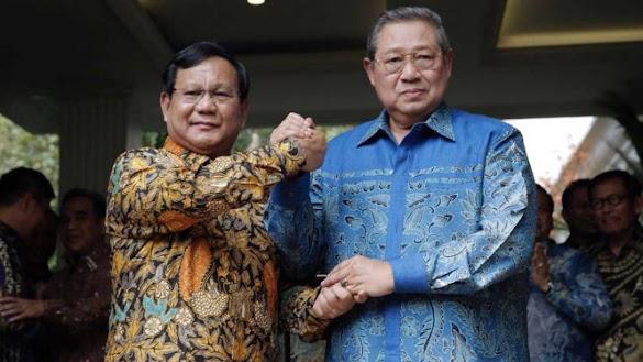 Demokrat: Kangen SBY, Pilih Prabowo-Sandi
