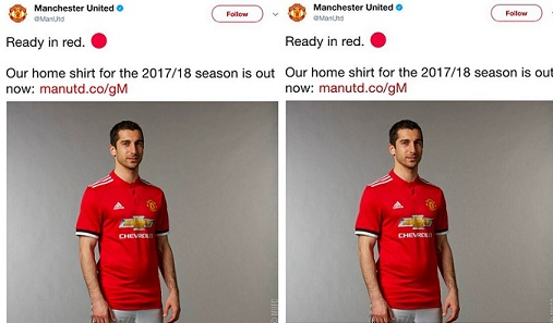 See How Man U's Henrikh Mkhitaryan Was Mocked Last Week By Fans