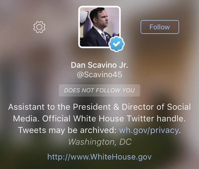 Trump's social media director Dan Scavino broke the law with Tweet