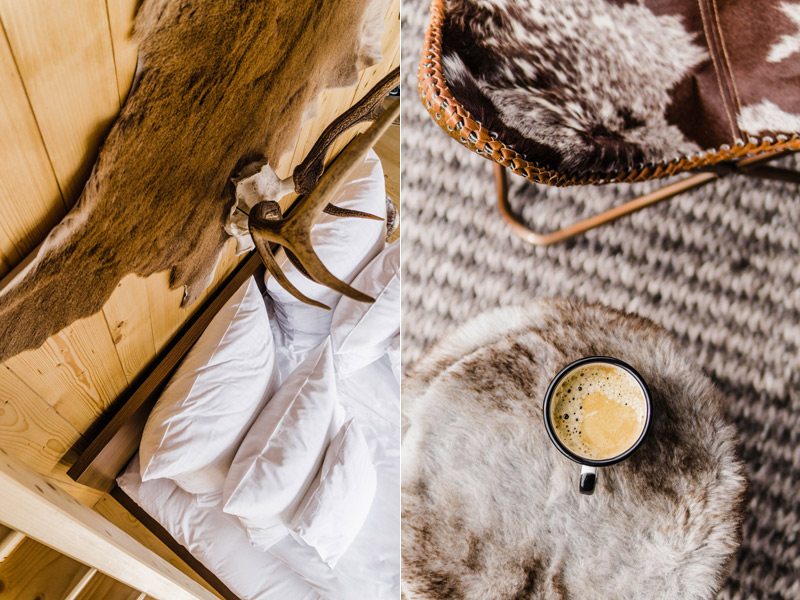 Luxurious glamping tents in the Tatras