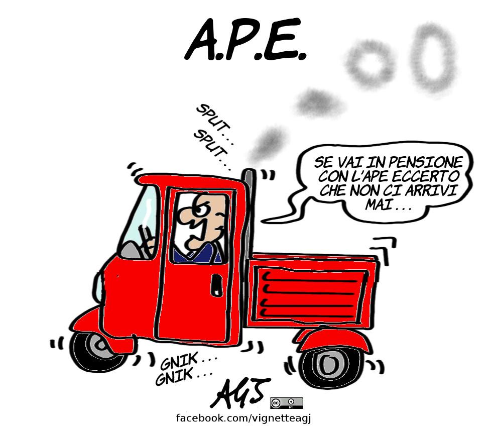 Vignette di AGJ: L'A.P.E.