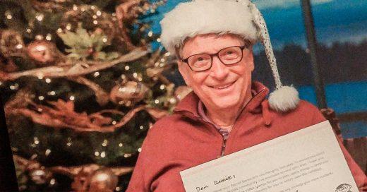 """Tiene como """"amigo secreto"""" a Bill Gates y es increíble"""