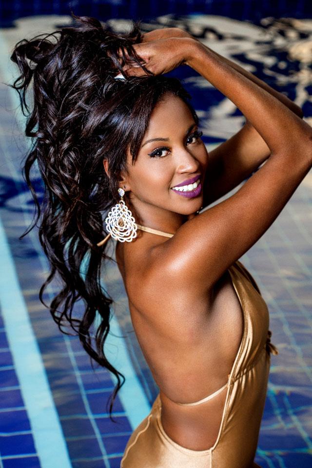 Mayrane Barbosa, Miss Brasil 2016, mostra sua beleza em ensaio. Foto: Ronaldo Gutierrez