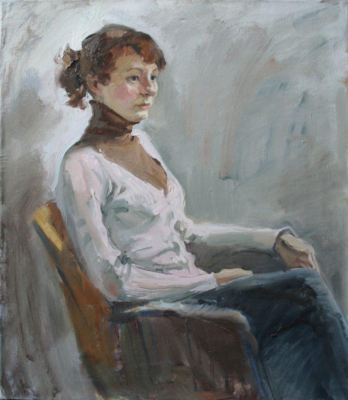 Российская художница. Анастасия Духанина