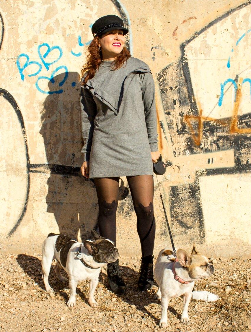 melange_boutique_fashion_blog_de_moda_vestido_sudadera_volantes_shein_sheinside_medias_gato_calzedonia_biker_perfecto_tachuelas_cuero_mango_gorra_capitan