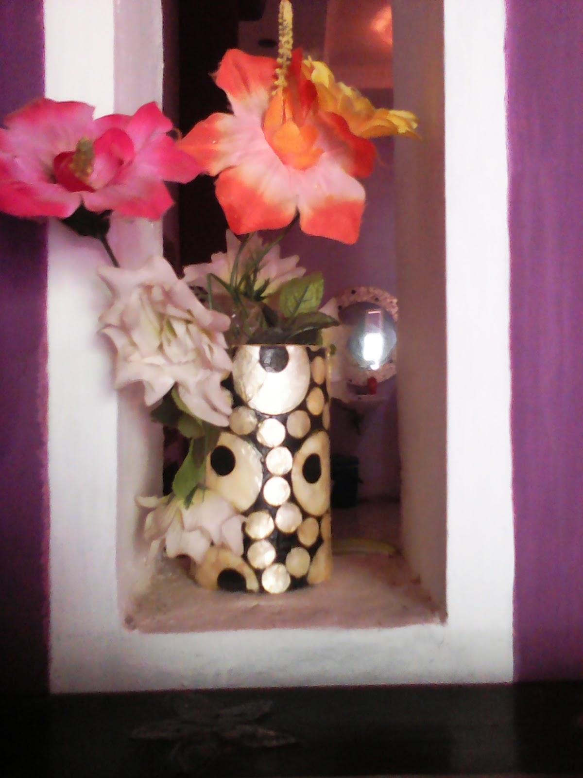 vase bunga fiberglass