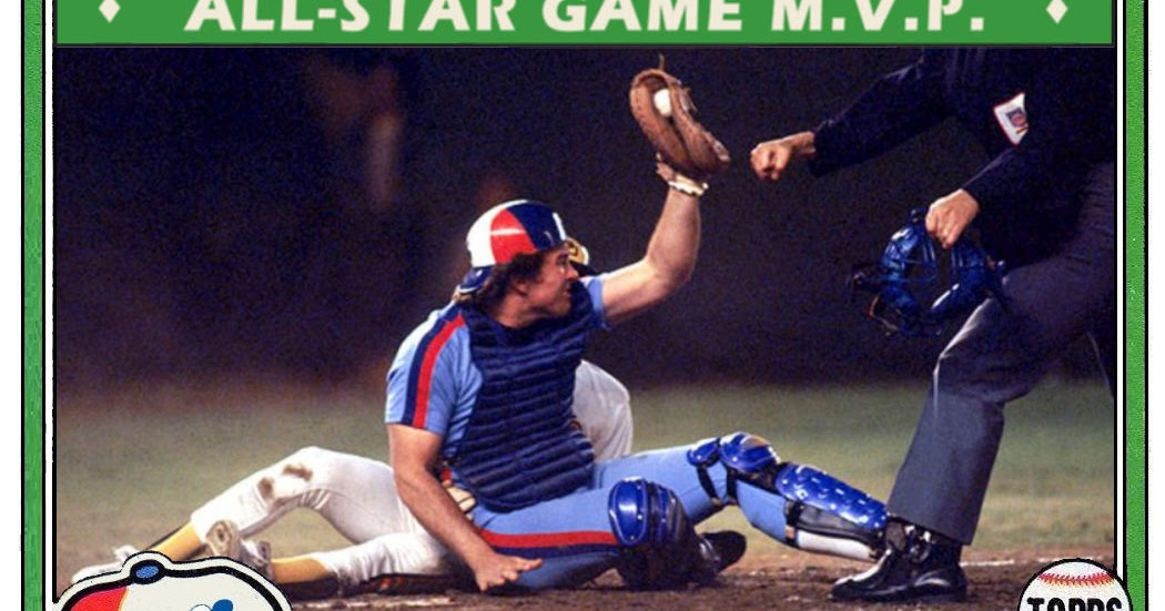 Cards That Never Were 1981 Topps Gary Carter All Star Mvp