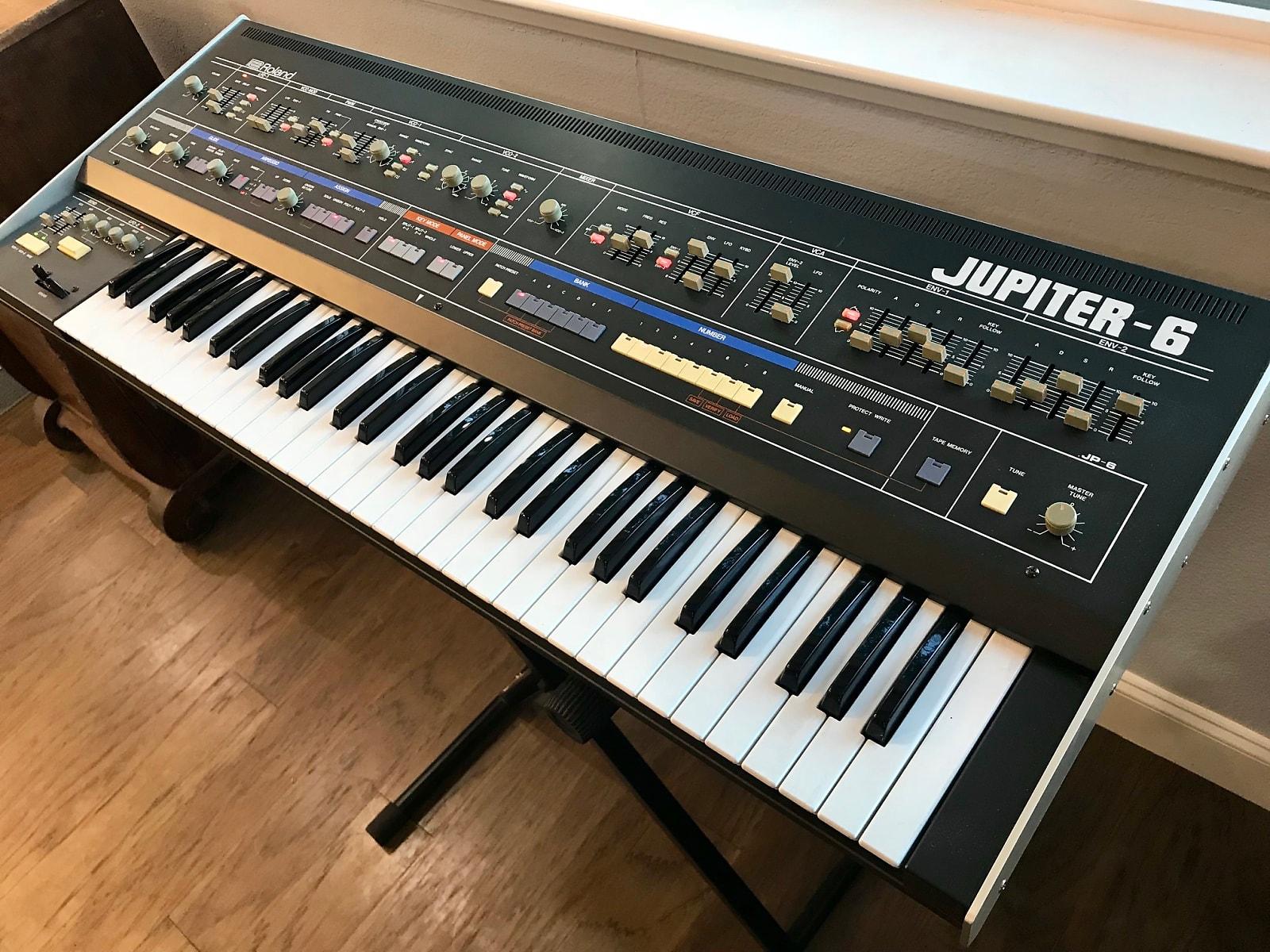 MATRIXSYNTH: Roland Jupiter 6 Vintage Analog Polyphonic