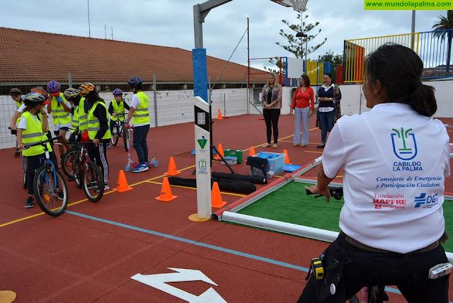 El Cabildo lleva su plan de formación de seguridad vial al alumnado de Breña Baja