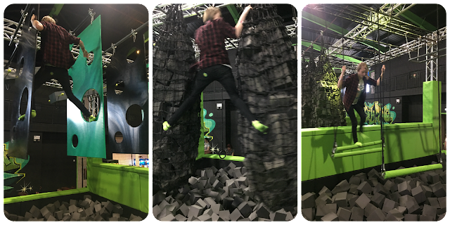 Ninja assault course, Flip Out, Brent Cross