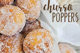 Churro poppers delicious!