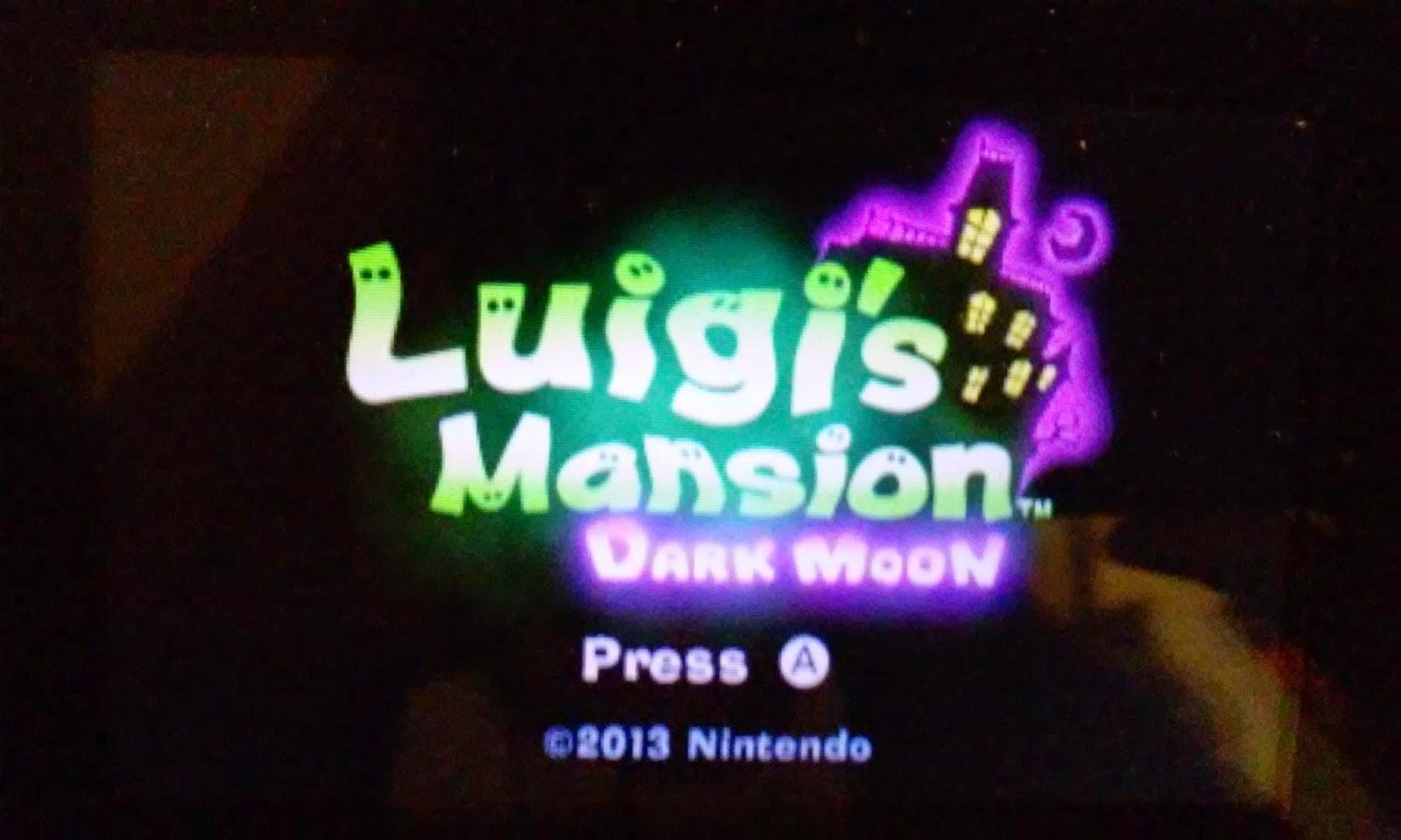Whatsoever Critic Luigi S Mansion Dark Moon Playthrough