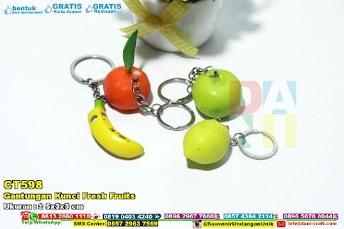 Gantungan Kunci Fresh Fruits