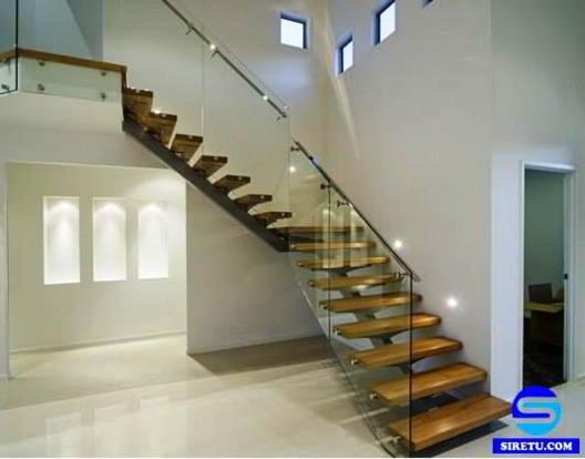 35 model desain tangga rumah minimalis modern sederhana
