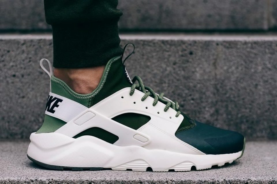 nike air huarache menta green