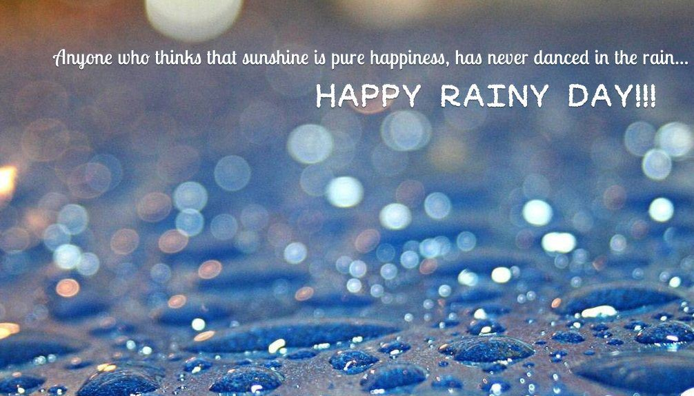 Happy Rainy Day Wishes