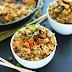 Easy Vegan Fried Rice #vegetarian #dinner