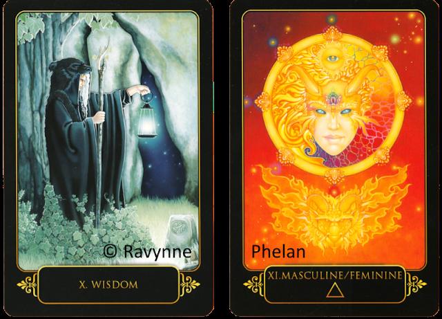 Dreams of Gaia Tarot Wisdom Masculine Feminine Ravynne Phelan