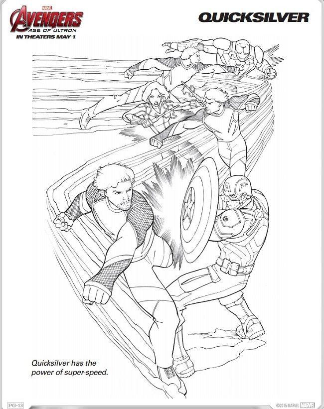 Avengers Ausmalbilder Zum Drucken: Ausmalbilder Zum Ausdrucken: Ausmalbilder Die Rächer (The