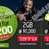 Etisalat Night and weekend Offer - Get 2GB for N1000 and 5GB for N2000 With Free 24/7 WhatsApp data Bonus
