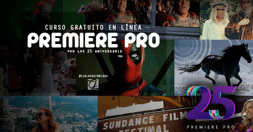 Curso gratuito en línea de Adobe Premiere Pro 2017