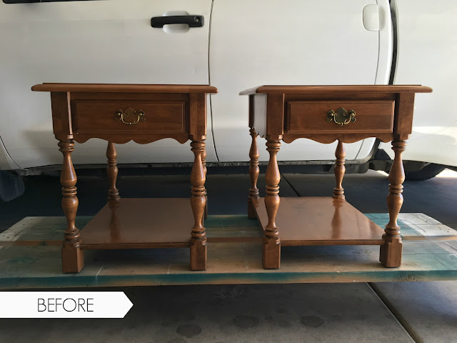 end table makeover, nightstands before and after, chalk paint tutorial, nightstand makeover