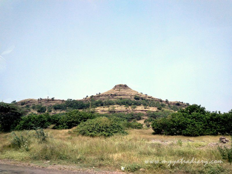 Sahyadri mountains on the way to Shani Shinganapur near Shirdi