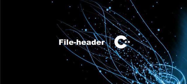 Pengertian dan Cara Pembuatan File-header C++ - belajar C++