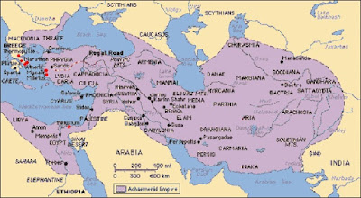 Peta Kekuasaan Persia Persian Empire Map - berbagaireviews.com