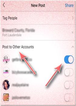 Cara Membagikan Postingan Ke Banyak Akun Instagram