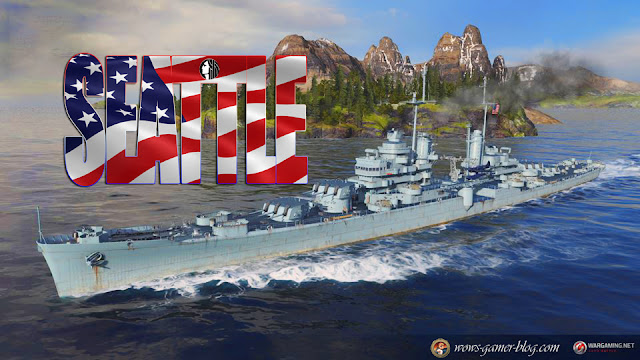WORLD OF WARSHIPS - USS SEATTLE