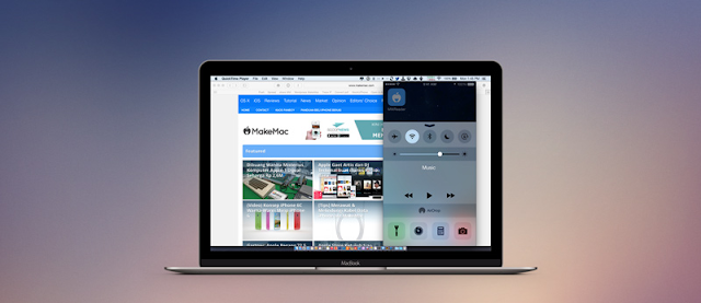 How To Record Game, Video On iPhone, iPad Screen With OS Yosemite