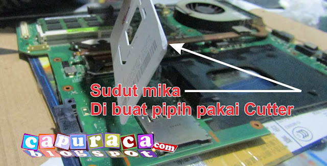 laptop asus a42f, mengganti pasta laptop, mengganti thermal paste laptop,