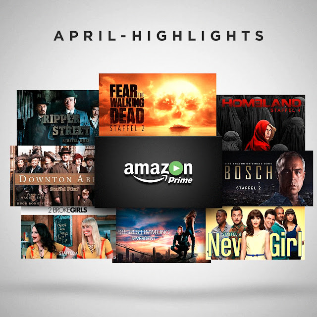 AMAZON PRIME VIDEO HIGHLIGHTS IM APRIL