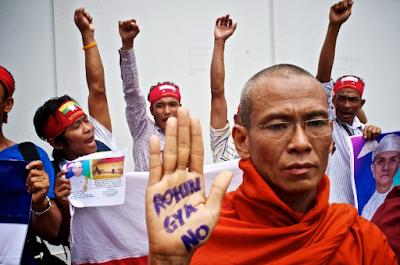 Kelompok Budha Nyanmar Bubar Paksa Acara Maulid Nabi