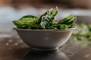 eat spinach to increase memory power