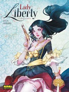 LADY LIBERTY 1 EL SECRETO DEL REY  Comic Europeo de Jean-Luc Sala y Aurore