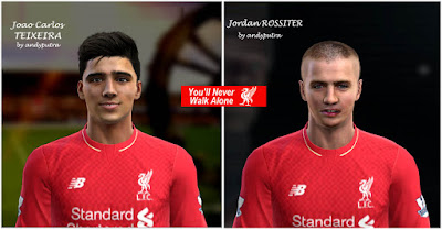 PES 2013 LIVERPOOL YOUNGSTER Face by andyputra