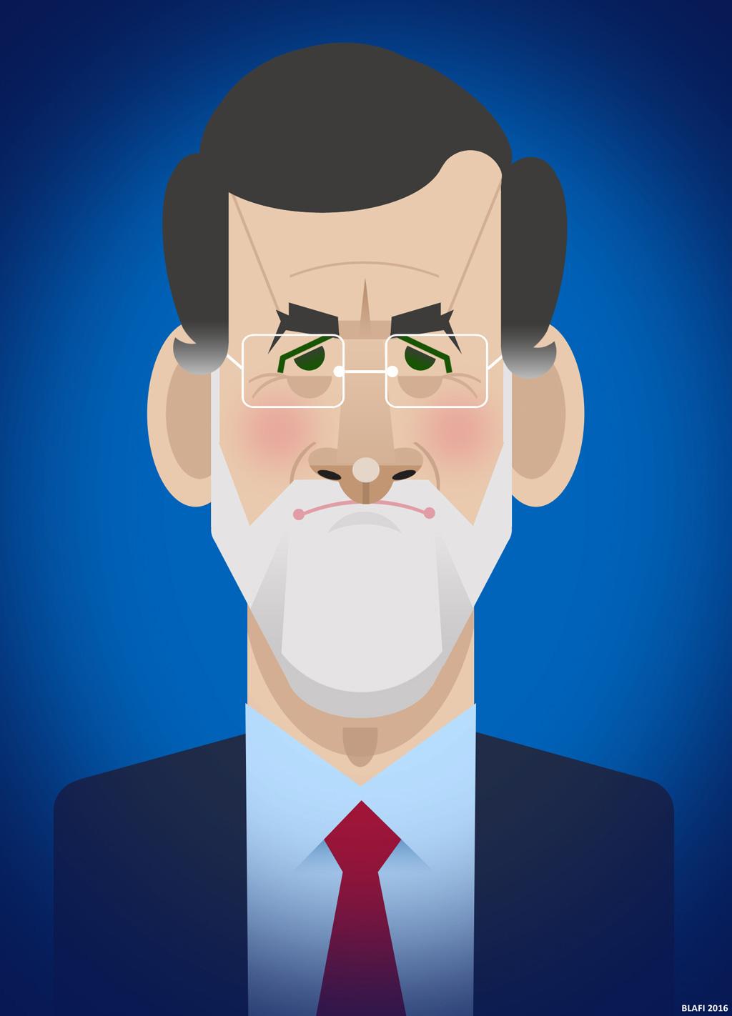 Mariano Rajoy por Daniel Fibla